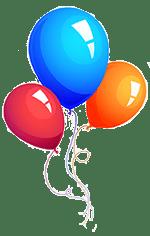 Birthday Party Activity Balloons